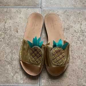 Kate Spade Pineapple slides